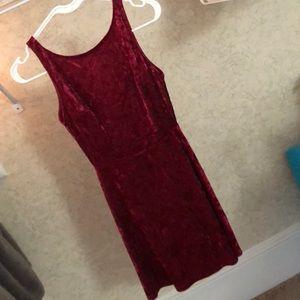 NEW! Red velvet dress